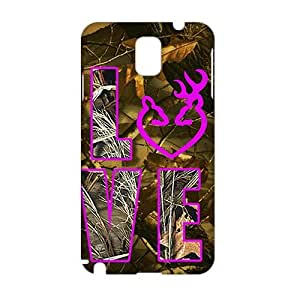 3D Case Cover Browning Logo Phone Case for Samsung Galaxy Note3