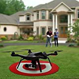 Drone-Quadcopter-Landing-Gear-Quad-Landing-Gear-Large-Heavy-Duty-Mat-Large-30-Inch-Round-Landing-Pad