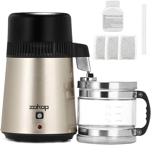 Destilador de agua, filtro purificador de agua de acero inoxidable ...