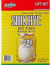 Paldo Sikhye, Korean Sweet Rice Punch, 238ml (Pack of 12)