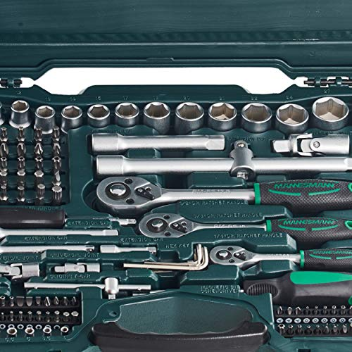 Mannesmann Socket Set (215 Pieces) by Br¨¹der Mannesmann