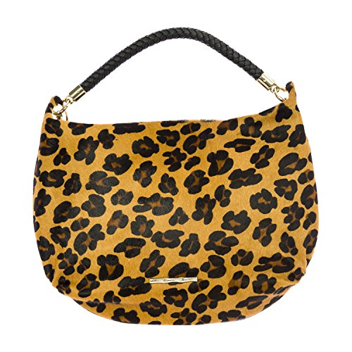 Stella One Bag Hair Calf Turner Cheetah Print Size Hobo Women's Elaine RqpOAIA