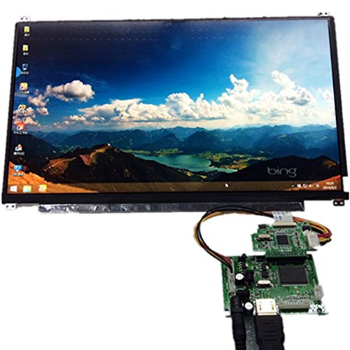 13.3 inch 8 Bit Display Screen 1920x1080 IPS 1080P Suitable For Car Raspberry Pi 3 Game PS4 Monitor by Gnome