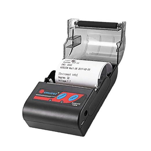 Cleme Impresora térmica 58 mm Bluetooth 4.0 máquina de Recibos ...
