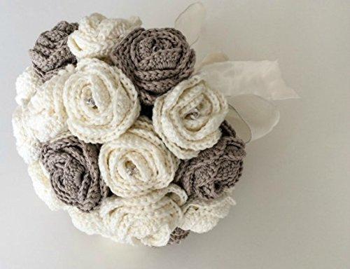 Crochet Wedding Bouquet: Amazon.co.uk: Handmade