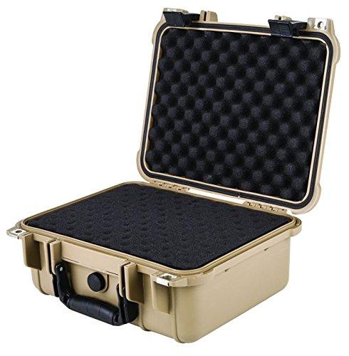 Flambeau Outdoors 1109HD-T HD Series Hard Gun Case, Small-Tan by Flambeau Outdoors (Image #3)