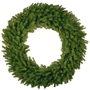"""National Tree CO-Import NF7-10-60W 60"""" Artificial Norwood Wreath 70"""