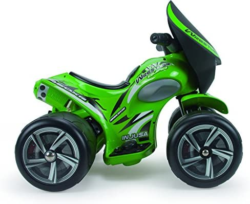 INJUSA- Quad Wrestler Eléctrico de 6V para niños de +12M, Color Verde (124)