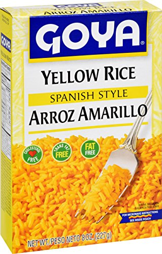 (Goya Foods Yellow Rice Mix, 8-Ounce (Pack of)