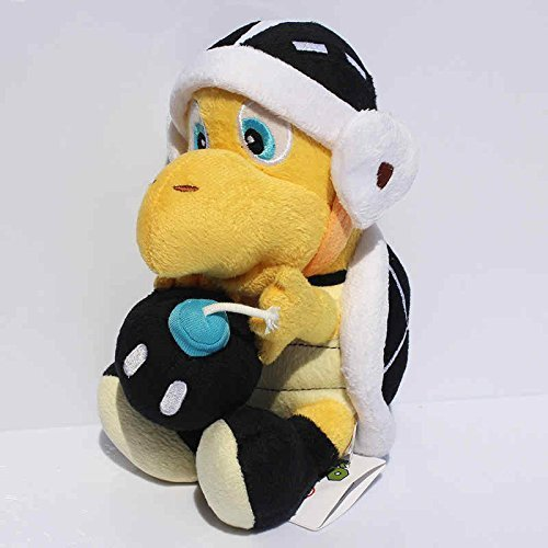 Super Mario Bros Koopa Troopa with Bomb 8 Inch Anime Stuffed Plush Kids Toys