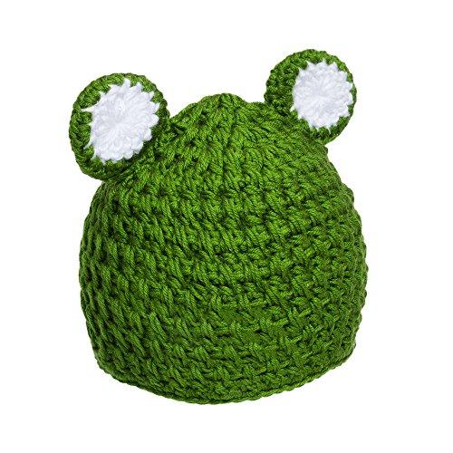 Lovely Gorro de bebé diseño rana y oveja  fbf053bc30e