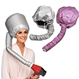 Best Soft Bonnet Hair Dryers - DATON Travel Home Portable Soft Hood Bonnet Attachment Review