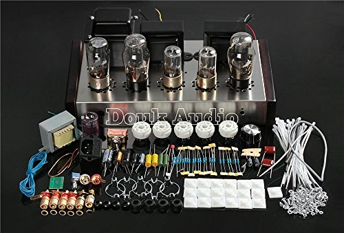 Tube Amplifier Kits - Nobsound 6N8P+6P3P HIFI Single-Ended Pure Class A Tube Amp Vacuum Power Amplifier DIY Kit