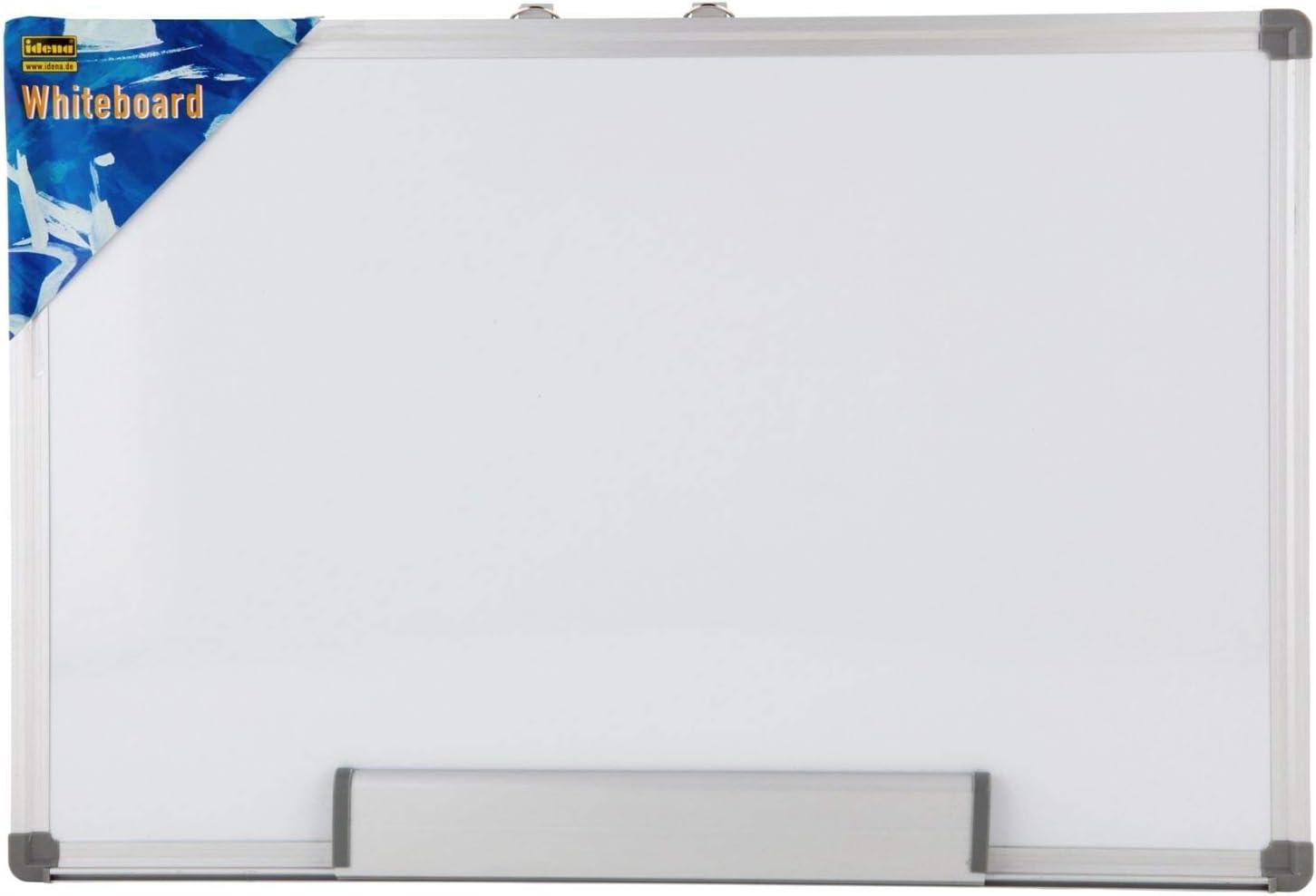 Idena 568024 - Pizarra blanca, aprox. 40 x 30 cm: Amazon.es ...