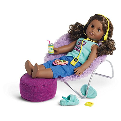 American Girl - Gabriela's Chair and Ottoman Set by American Girl