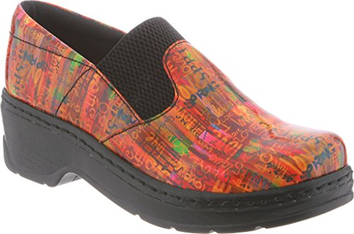 Klogs Footwear Women's Imperial Leather Clog Spring Love Patent