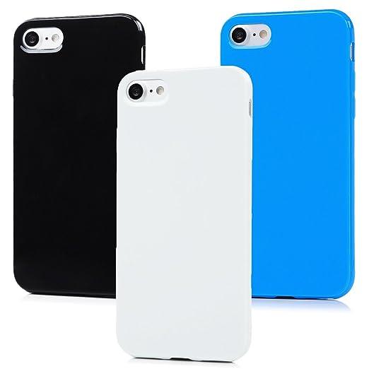 7 opinioni per 3x iPhone 7 Custodia Silicone Morbido TPU Gel Ultra Slim- MAXFE.CO Case Cover