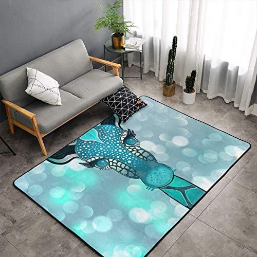- Bedroom Livingroom Sitting-Room Queen Size Area Rug Home Decor, Cute Cartoon Giraffe Illustration Doormat Quick Dry Bath Rugs, 60x39 Inch Non-Slip Yoga Mat Throw Rugs Carpet