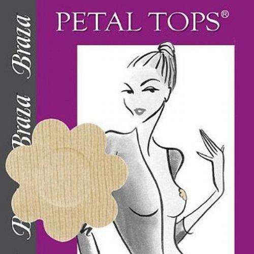 SL - Braza Petal Top Disposable Nipple Covers - 5 Pair (Petal Womens Top)