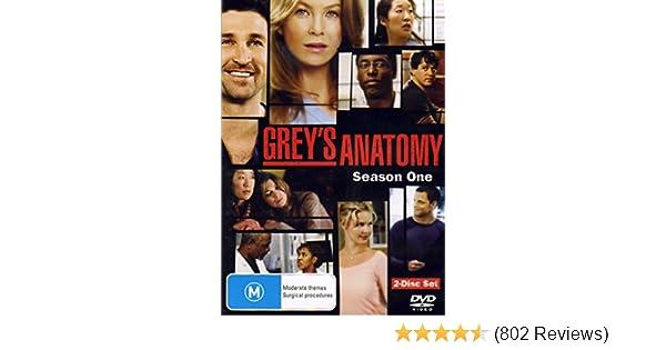 Amazon com: Grey's Anatomy - Season 1 (2 Disc Set): Katherine Heigl