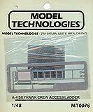 Model Technologies 1:48 A-4 Skyhawk Crew Access Ladder PE Detail #MT0076