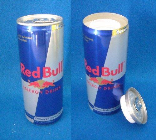 NEW POP CAN DIVERSION SAFE STASH HIDE SECRET RED BULL by POP Can