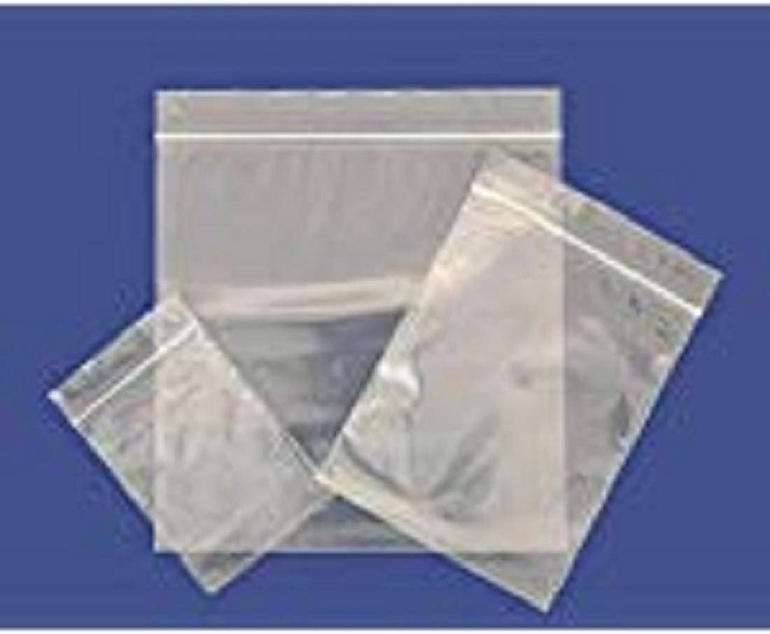 Food Bags Grip Seal Clear Resealable Plastic Packing Sandwich Press Lock Packets
