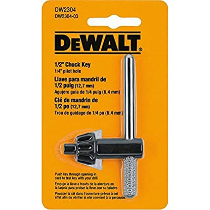 DeWalt 330034-16 Chuck Key