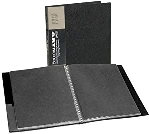 ITOYA 18 inch x 24 inch Original Art Profolio Presentation Book/Portfolio- for Art, Photography, and Documents