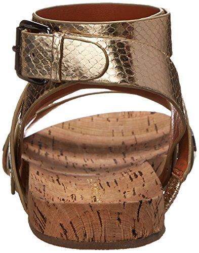 Rebecca Minkoff Women's Tristen Gladiator Sandal Gold 1bVuvRKcU