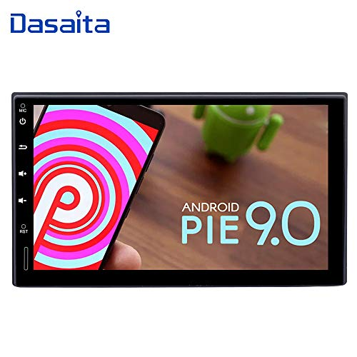 "Dasaita 7"" Double DIN Android 9.0 Bluetooth Car Stereo Head"