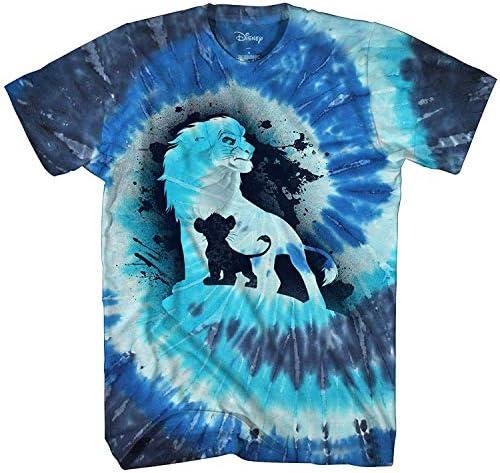 Disney Lion King Future King Africa Simba Mufasa Tie Dye Disneyland World Tee Adult Men's Graphic T-Shirt Apparel 1