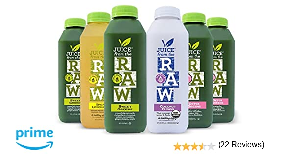 Amazon juice from the raw 3 day organic juice cleanse amazon juice from the raw 3 day organic juice cleanse forever cleanse 18 bottles health personal care malvernweather Choice Image