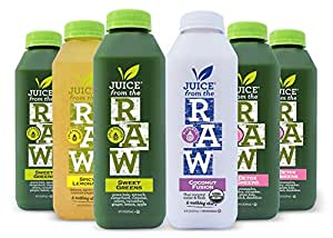 Amazon juice from the raw 3 day organic juice cleanse forever juice from the raw 3 day organic juice cleanse forever cleanse 18 bottles malvernweather Image collections