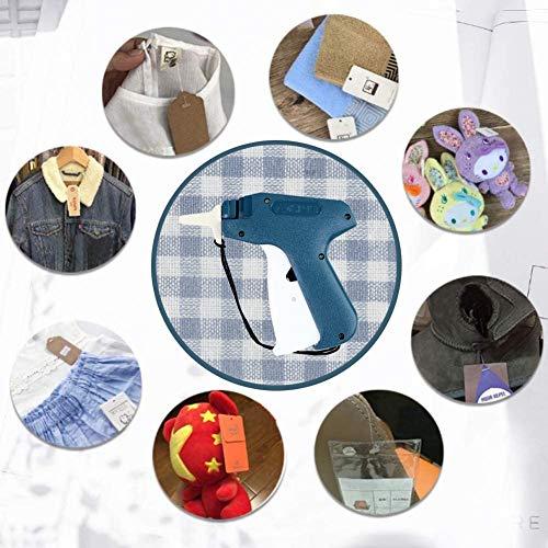 Koogel Etikettierpistole, Heftpistole Etiketten pistole mit 5 Ersatznadeln und 3000 Heftfäden für Kleidung Preisschilder Etiketten Preis Marke Tags Schild