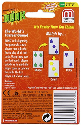 Reinhards Staupe's BLINK Card Game The World's Fastest Game