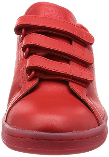 Smith Adulte Stan adidas Basket Rouge CF Mixte Rouge 6Pnwq
