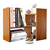 DL furniture Adjustable Desktop Organizer, Adjustable 2 DIY Piece to Best Manage Your Personal Space | Natural