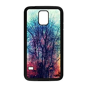 Artistic colorful tree oil painting Phone Case for Samsung Galaxy S5