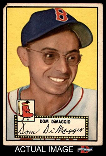 Sox Boston Red 1952 - 1952 Topps # 22 Dom DiMaggio Boston Red Sox (Baseball Card) Dean's Cards 1 - POOR