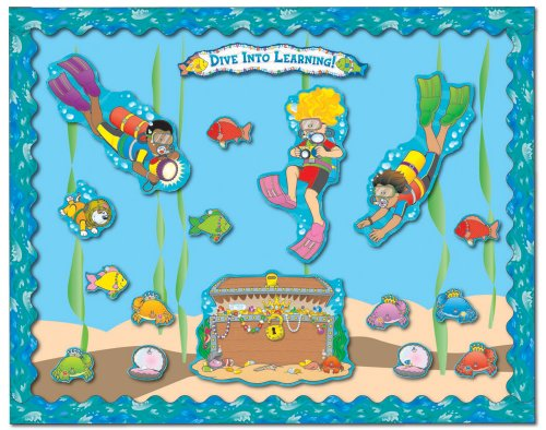 Carson Dellosa Dive Into Learning Bulletin Board Set (3459)
