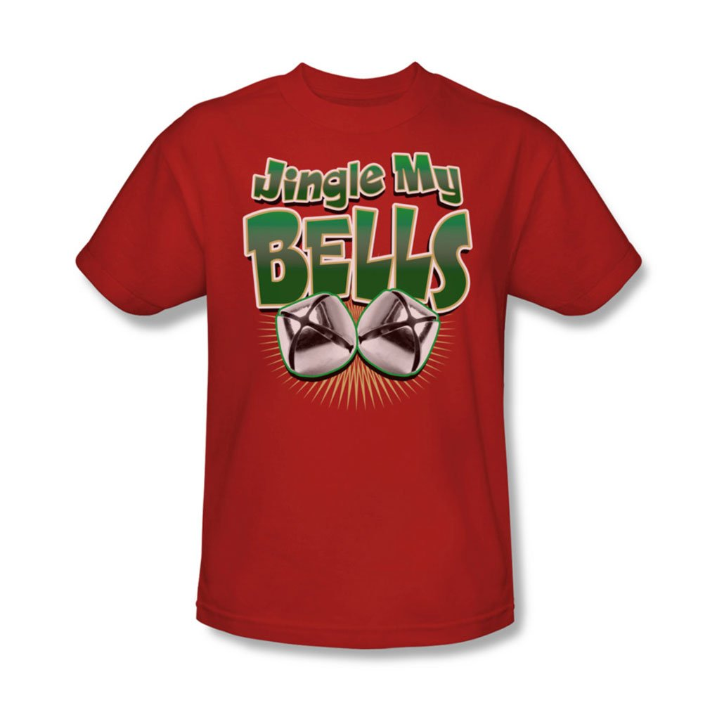 91d41f38b37 Amazon.com  Jingle My Bells - Mens T-Shirt In Red  Clothing
