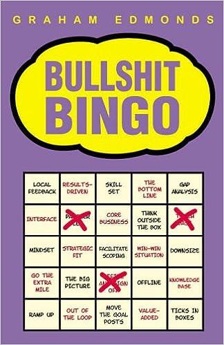 Image result for bullshit bingo