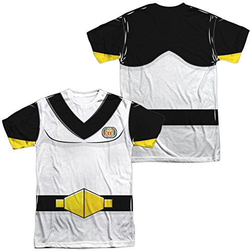 Sven Costume For Men (Trevco Men's Voltron Sven Costume Double Sided Adult T-Shirt, White, XX-Large)