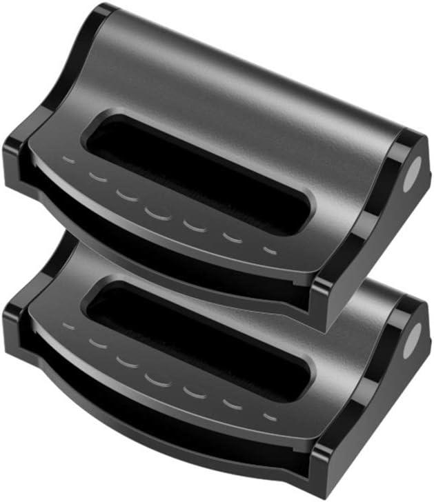 SAMTITY 2 ST/ÜCKE Auto Kunststoff Sicherheitsgurt Schnalle Sicherheit Einstellbare Stopper G/ürtelschnalle Sicherheitsgurteinsteller Relaxen des Schulterhalses Verriegelungsclips