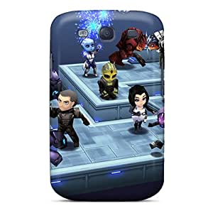 Fashion Tpu Case For Galaxy S3- Cute Mass Effect Defender Case Cover