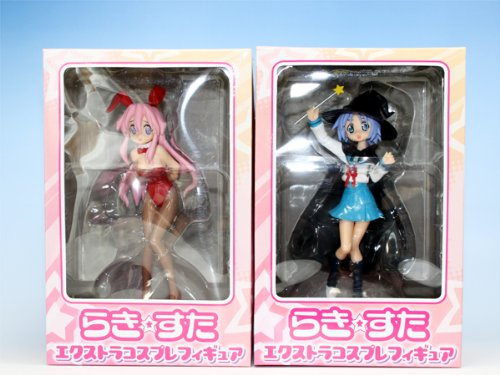 Lucky-Star-Extra-cosplay-figure-prize-anime-Sega-Miyuki-holly-all-two-full-sets-of-Tsukasa