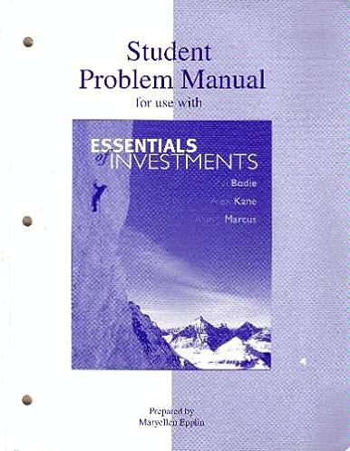 amazon com student problem manual 9780073041629 zvi bodie alex rh amazon com Student Solution Manual DC LDS Student Manual
