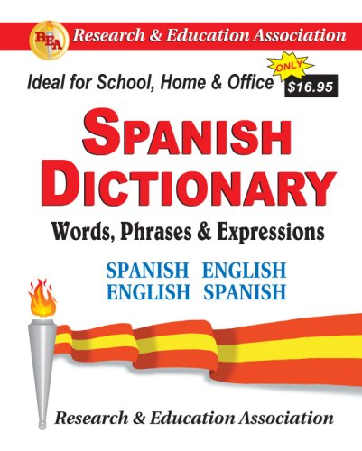 Spanish Dictionary: Words, Phrases & Expressions (Handbooks & Guides) (English and Spanish Edition)
