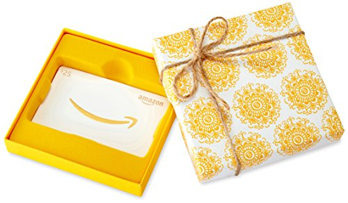 Amazon.com $25 Gift Card in a Medallion Box